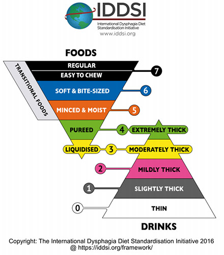 dysphagia diet liquid consistancy
