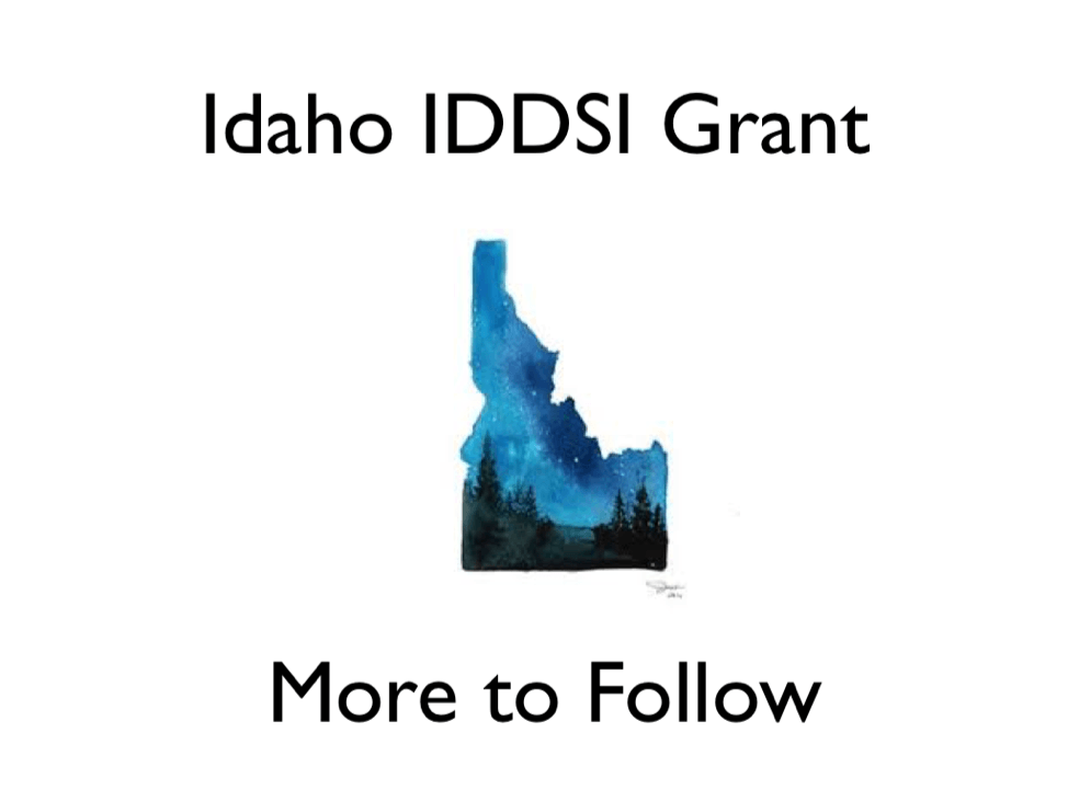Idaho applied for a grant to help promote IDDSI for patient safety!