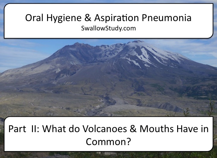 Comparing the ecobiome after volcanic eruption to the oral microbiome when someone is critically ill.